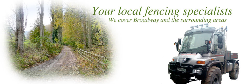 Fencing contractors Broadway