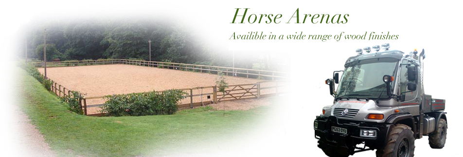 Horse Arenas - Wooden Gates - Wooden Fencing