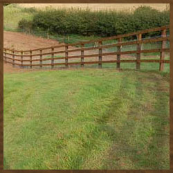 Post & Rail Wooden Fencing